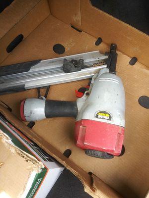 Pneumatic framing nail gun for Sale in Denver, CO