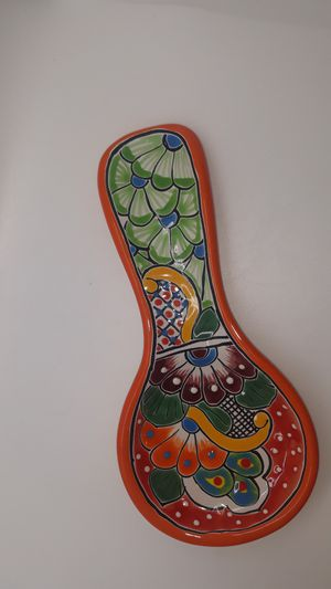 Talavera spoon rest for Sale in Waxahachie, TX