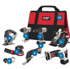 Brand new, in box, never used Porter Cable 20v lithium tool set. for Sale in Waldorf, MD