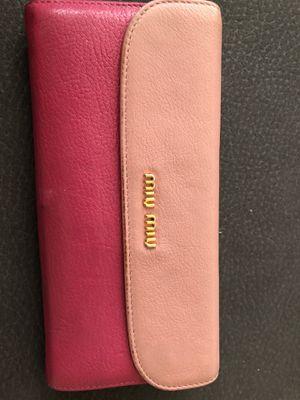 Miu miu wallet for Sale in Arlington, VA