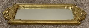 VINTAGE ANTIQUE RESIN GOLD ENTRY MIRROR HOME DECOR for Sale in Chapel Hill, NC