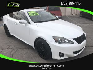 2012 Lexus IS for Sale in Las Vegas, NV