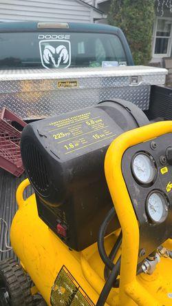Dewalt electric air compressor for Sale in Elizabethtown,  PA