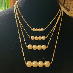 Faux Pearl Fashion Necklace for Sale in Wenatchee, WA
