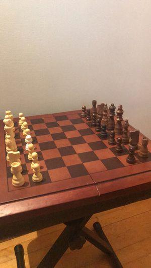 Chess/Backgammon set for Sale in Marquette, MI