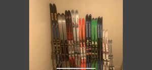 14 pairs of various skis for Sale in Bend, OR