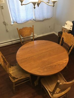 Dining table and chairs for Sale in Greenwich, CT