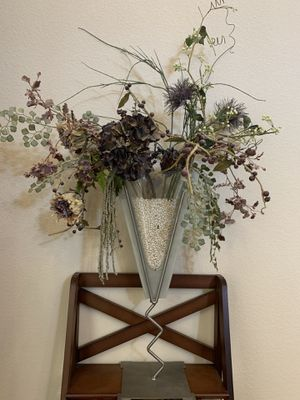 Decorative vase with artificial flowers for Sale in Aurora, CO