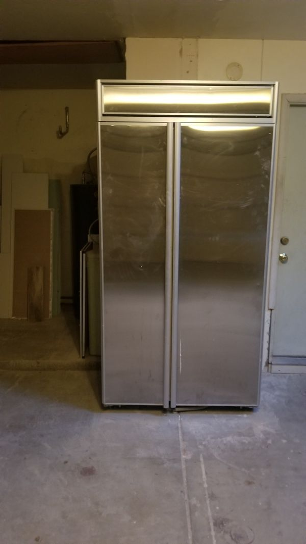 Kitchenaid Superba 42 Built In Refrigerator Freezer For