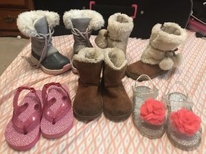 Size 5 Toddler Girls Shoes for Sale in Forney, TX