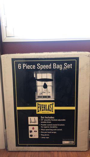 Everlast speedbag set for Sale in Lake Elsinore, CA