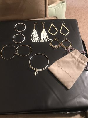 Women's David Yurman earrings and bracelets for Sale in Rex, GA