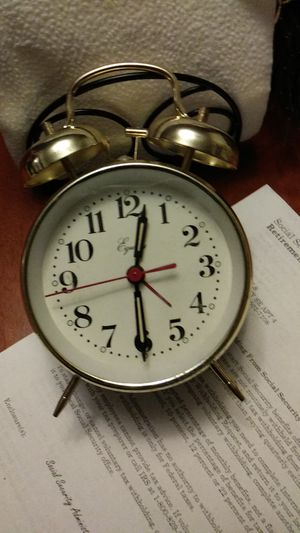 Wind up alarm clock for Sale in Tumwater, WA