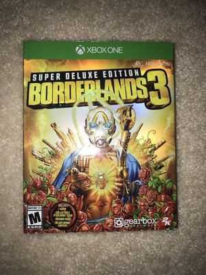 Borderlands 3 Super Deluxe Edition for Sale in Monroe, NC