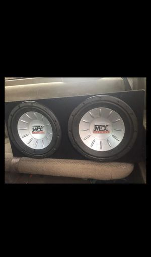 Mtx subwoofer for Sale in Weslaco, TX