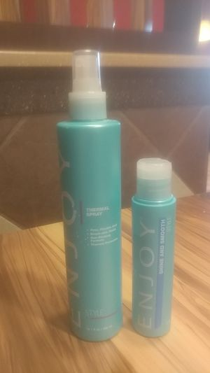 Enjoy Thermal Spray and Shine and smooth serum. for Sale in Wichita, KS