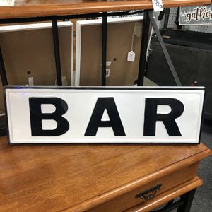 """Brand New Metal Bar Sign (Dimensions: 24.5""""x7.5"""") for Sale in North Las Vegas, NV"""