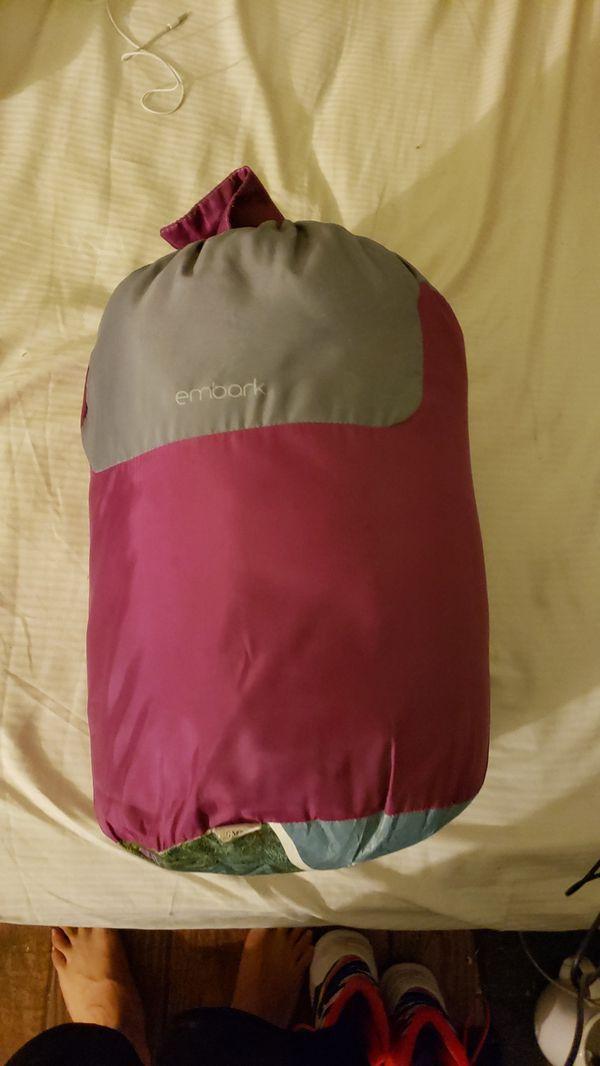 Sun shade & Sleeping bag