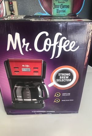 Mr coffee programmable 12 cup coffee maker for Sale in Moreno Valley, CA