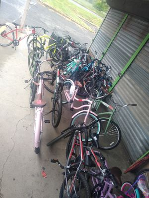 Received a bunch of bikes today will be making appointments kids and adult bikes for Sale in Philadelphia, PA