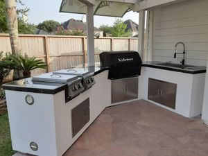 Custom BBQ islands and Grills for Sale in Houston, TX