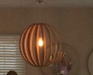 "West Elm ""bentwood"" pendant / chandelier for Sale in Long Beach, CA"