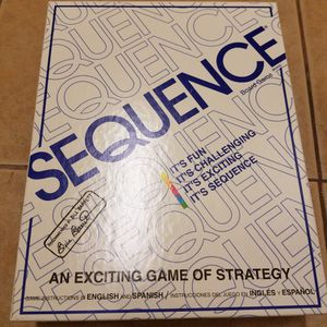 Board Game: Sequence for Sale in Gardena, CA