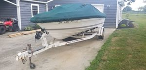 1985 sea ray seville 17 ft bowrider for Sale in Hilliard, OH