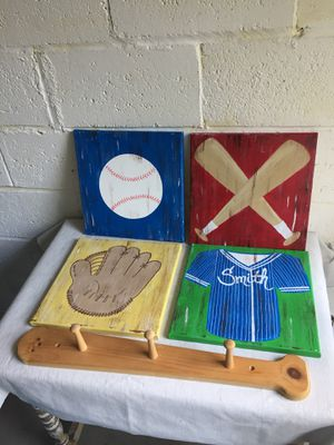 Baseball decor for Sale in Pittsburgh, PA