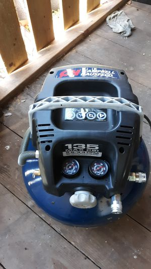 Campbell Hausfeld compressor for Sale in Spring, TX