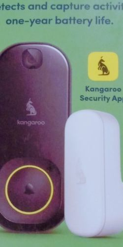 Kangaroo Doorbell Camera And Chime for Sale in Cape Coral,  FL