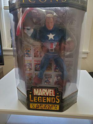 "ToyBiz Marvel Legends 12"" Variant Unmasked Captain America 2006 for Sale in Philadelphia, PA"
