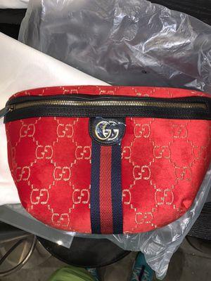 Red suede Gucci belt bag for Sale in VA, US