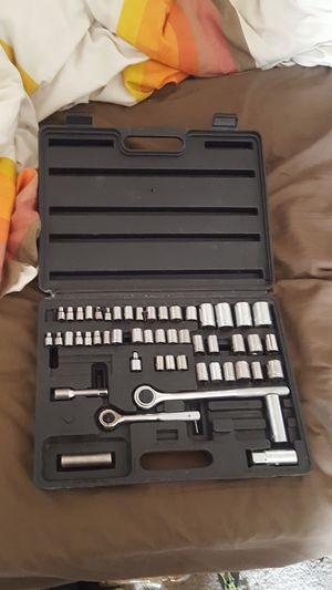 Ratchet and socket tool box for Sale in Hesperia, CA