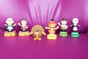 Thanksgiving / Fall Theme Solar Dancers. Some brand new some open box. All in perfect working condition! for Sale in Woodland, CA