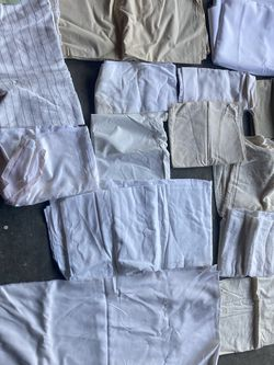 White And Beige Fabric for Sale in Houston,  TX