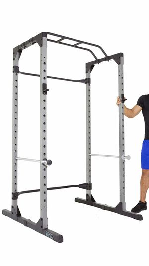 "Power Rack Cage with Lock-in J-Hooks 50.4""L x 46.3""W x 83.7""H new in box for Sale in NO POTOMAC, MD"