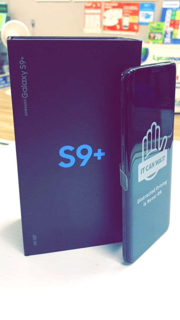 Samsung Galaxy S9 Plus / S9+ Brand New In Box / Like New / Cracked - Factory Unlocked (T-Mobile AT&T Verizon Sprint International) Starting @