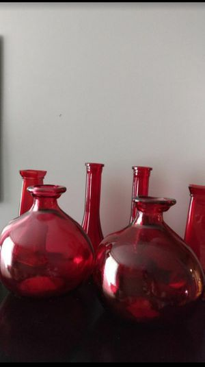 Glass Decorative Vases (See Description) for Sale in St. Louis, MO