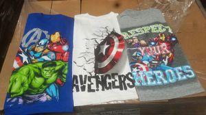 Marvel, camisa para niño y niña for Sale in San Bernardino, CA