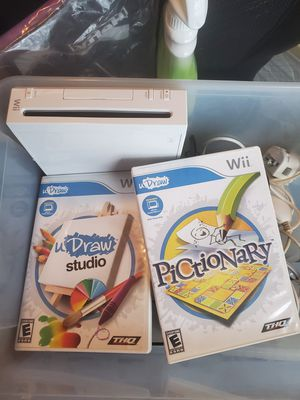 Nintendo Wii with a few extras for Sale in Orlando, FL