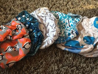 Cloth/Pocket Diapers And Wet Bags for Sale in Santa Cruz,  CA