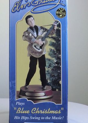 """Collectible vintage Elvis doll sings """"Blue Christmas"""" for Sale in Hiram, GA"""