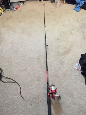 Panfish fishing rod and Shakespeare reel for Sale in Westminster, CO