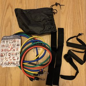 5 pack resistance band set for Sale in Brooklyn, NY