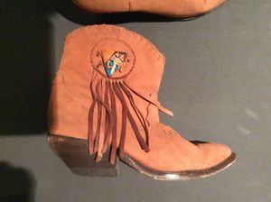 real ZODIAC cowboy boots, genuine leather women size 6, MAKE AN OFFER $75 for Sale in Mountain View, CA