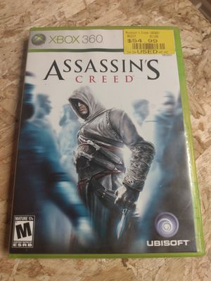 Assassin's Creed XBOX 360 for Sale in Columbus, OH