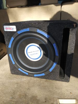"""12"""" Power acoustik gothic 2500 watts for Sale in Pine Springs, MN"""