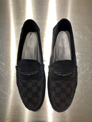 Louis Vuitton Car Shade Shoes Dark Navy Men's Size 7UK/8US for Sale in Tampa, FL