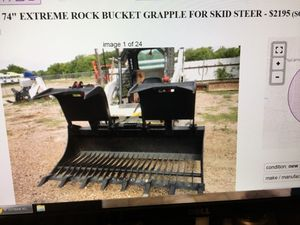 Heavy duty Skid Steer Rock Grapple for Sale in Fort Worth, TX